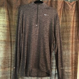 Men's Nike Running Quarter Zip - XL